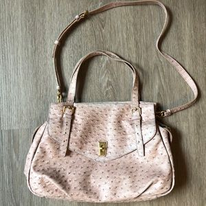 Marc by Marc Jacobs Light Pink Ostrich Handbag